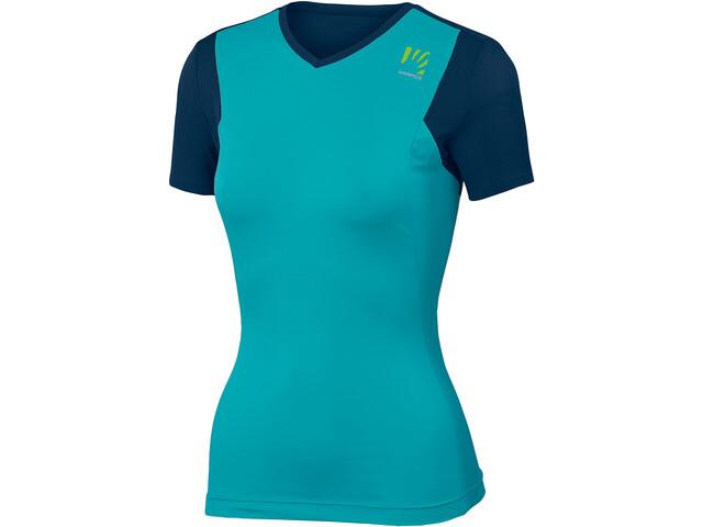 Karpos Giralba Maillot de cyclisme Femme, bluebird/insignia blue